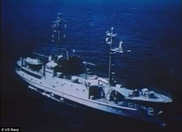 Not a battleship: The USS Pueblo was barely armed, meant for intelligence gathering only