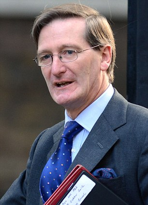 'Unduly lenient': Attorney General Dominic Grieve said the sentence handed to Hall did not reflect the seriousness of his crimes