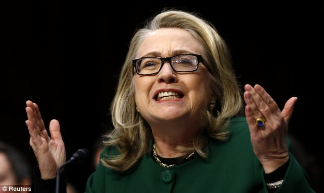Hillary Clinton asked a Senate Foreign Relations Committee panel, 'What difference, at this point, does it make?' whether the Benghazi catastrophe was a terror attack or the result of an impromptu protest