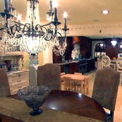 Cheap Small Kitchen Window Curtain Panels Inside The Lavish Home Real Housewives Stars Teresa And ...