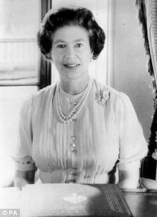 The Queen giving her Christmas Day Broadcast to the Commonwealth in 1983