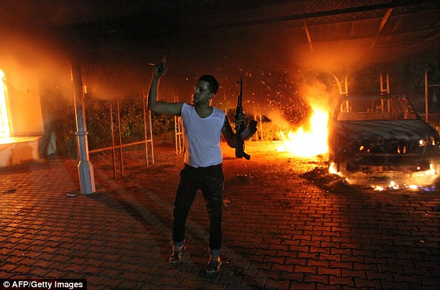 Terror: Four Americans were killed during the September 11, 2012 attack on the embassy in Benghazi