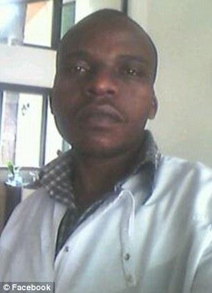 Victim: Bus driver Haji Lukindo was killed when the diplomat's SUV hit his vehicle