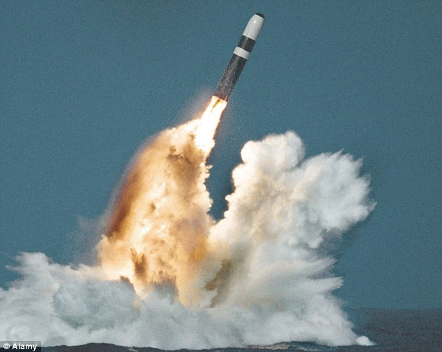 Warning: There are also fears over the Aldermaston centre where Trident missiles are serviced