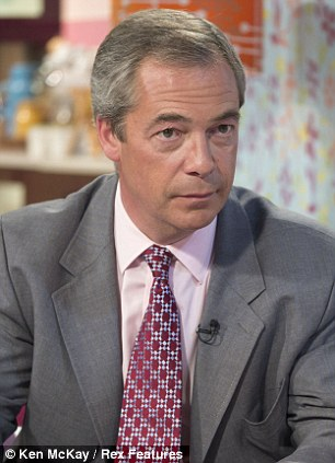 UKIP leader Nigel Farage is now facing calls to make Mr Perks stand down over his comments