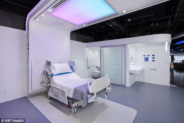 Patient Room 2020 Designers unveil hitech visions of