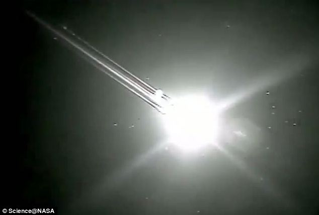 The fireball heralds one of the most stunning meteor showers of the year, NASA says