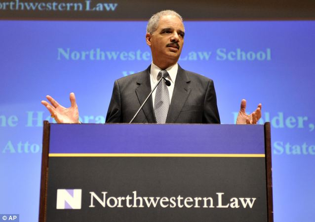 The U.S. attorney general filed travel reports for at least 11 university speeches -- at a total cost to taxpayers of more than $216,000 -- including a March 2012 address at the Northwestern University law school