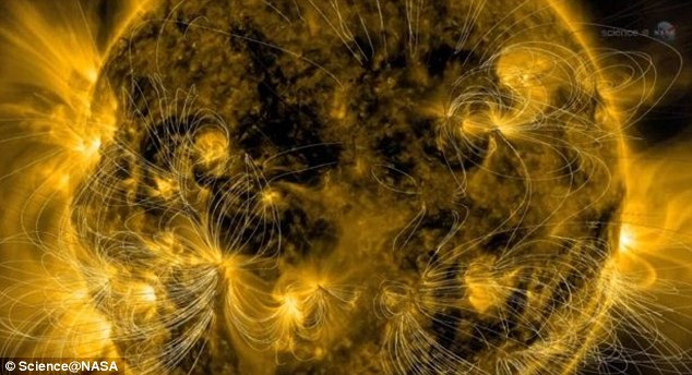 During Solar Maximum the amount of solar activity is at its highest.