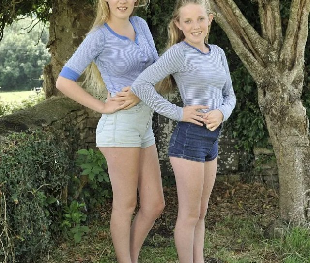 Double Take Shonas Girls Annie Left And Flo Dress Like Many Other