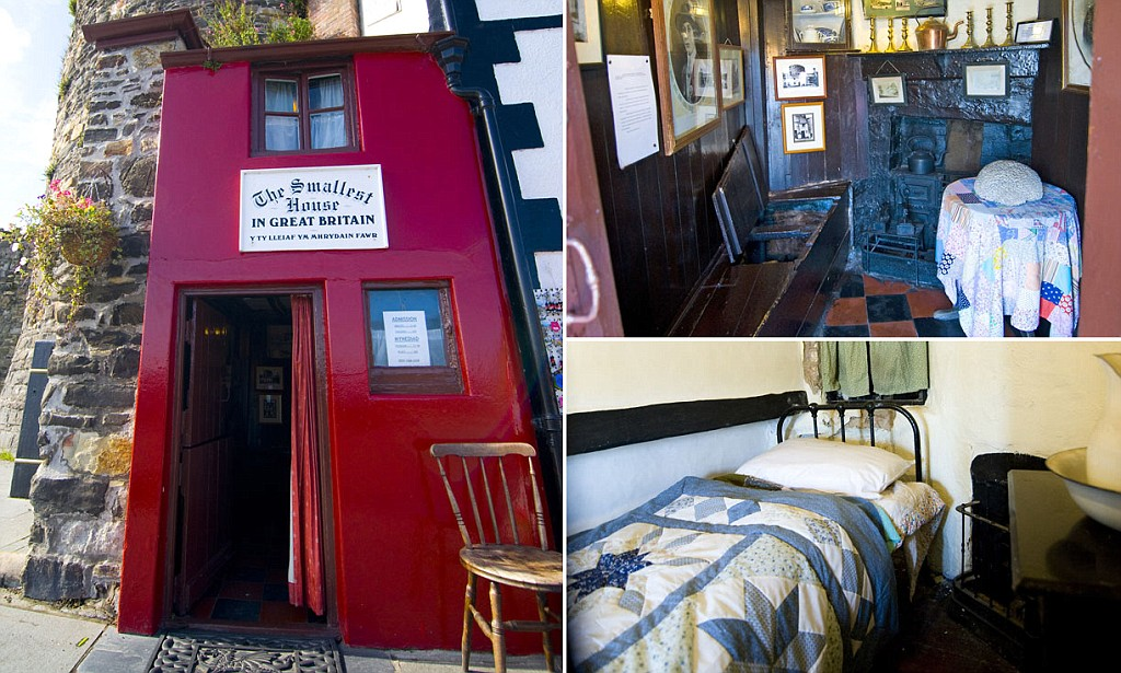 Take A Peek Inside Britain S Smallest House Which Is Just Six Feet Wide And Ten Feet Tall But Manages To Squeeze In Thousands Of Tourists Every Year Daily Mail Online