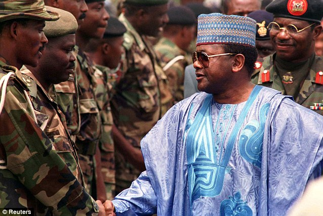 President Sani Abacha, a military dictator who ruled in the Nineties, had accrued a staggering $4¿billion (£2.58¿billion) fortune by the time he died