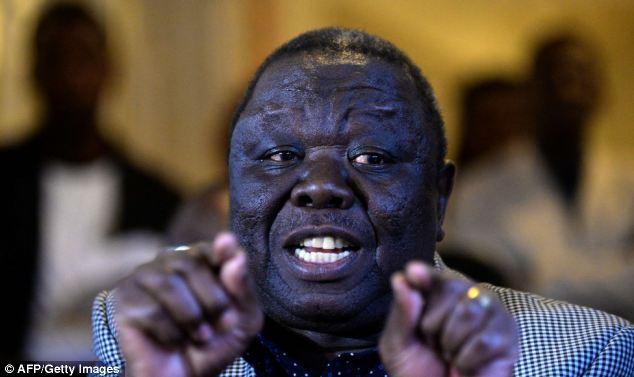 Conduct: Morgan Tsvangirai called the election a 'sham'. Concerns over electoral conduct were raised when duplicate names and addresses appeared on the electoral roll