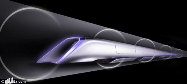Space-like: This conceptual design of the machine shows that it will have a futuristic look