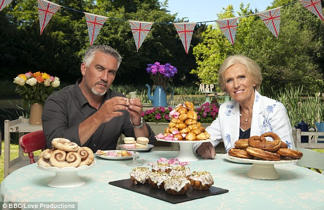 Image result for great british bake off paul hollywood
