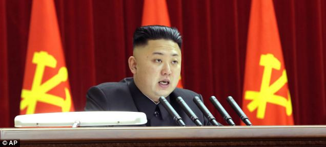 Evil: North Korean leader Kim Jong-un, son of former leader Kim Jong-il, presides over one of the most repressive regimes in history