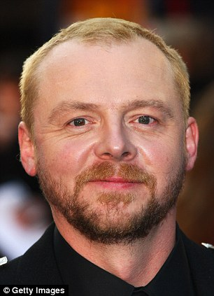 Simon Pegg is giving his support to the campaign