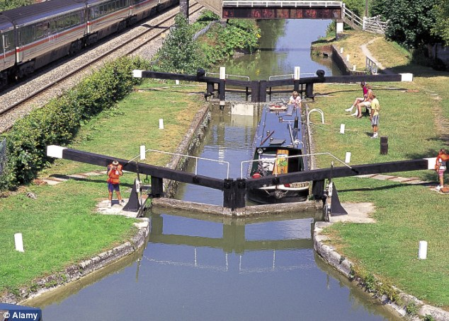 The pesticide entered the Kennet, pictured, at Marlborough in Wiltshire via a sewage pumping station and affected the river as far downstream as Hungerford in Berkshire