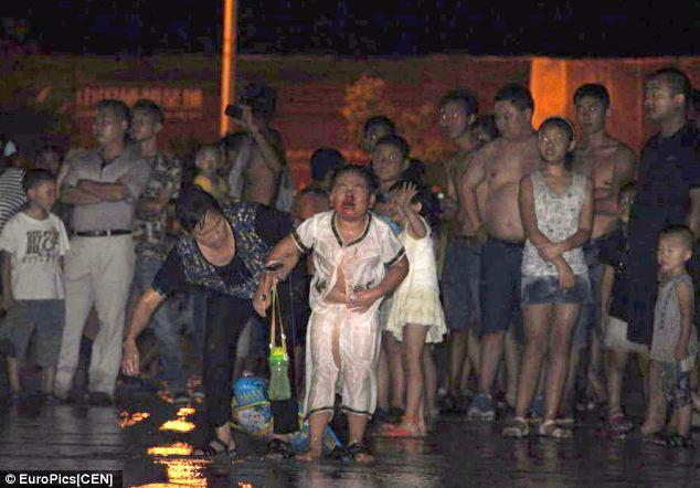 Kecelakaan Air Mancur China