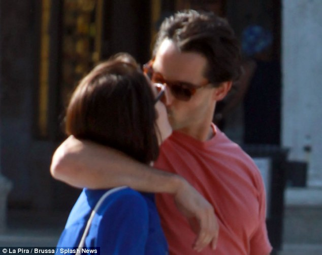 Smitten: According to sources close to the financial PR, Mr Dineen is very taken with the Downton actress