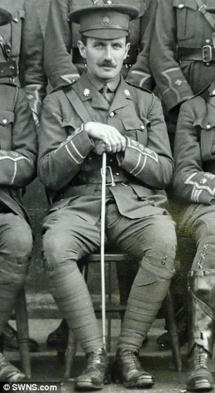 Captain Robert Campbell returned to a German PoW camp after being given permission to leave to visit his dying mother
