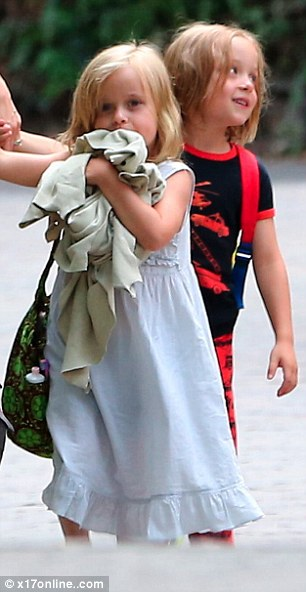 Angelina Jolie takes the kids twins Knox and Vivienne, Pax for a fun short trip for Labor Day Weekend to Santa Barbara