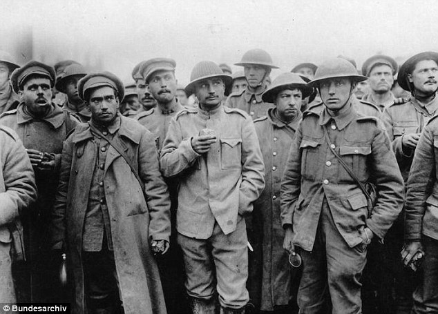 Troop: Capt Campbell was among troops like these ones when he was captured at the very start of the war
