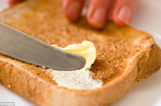 Image result for buttered toast