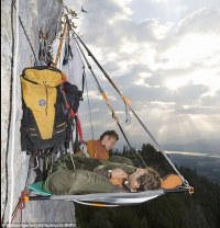 Clifftop camping! Adventure firm offers 750-a-night ...