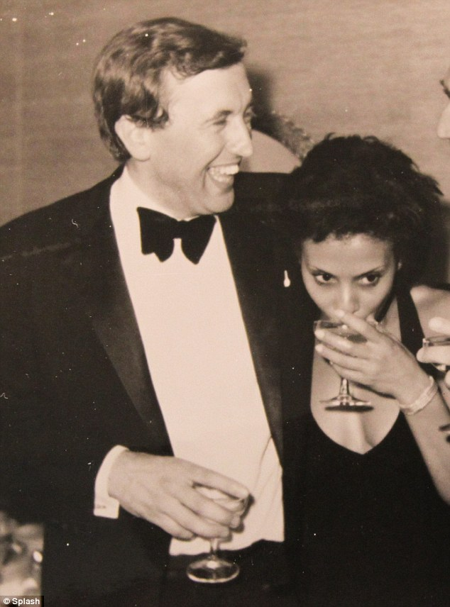 The one he dumped: Bernadette Smith. The couple lived the high life in New York