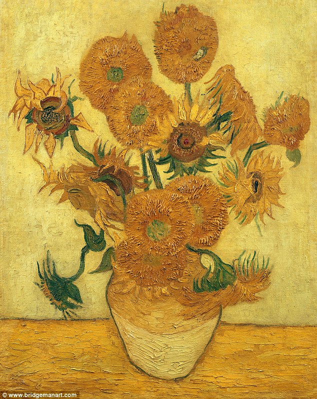 Image result for van gogh sunflowers
