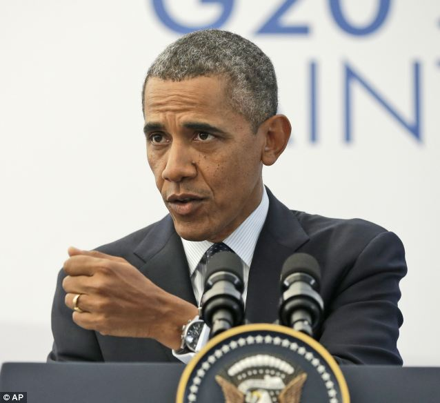 Obama said he might involve America in Syria's civil war despite a flood of public opinion against him, citing other times where the U.S. acted in unpopular conflicts because it was 'the right thing to do'