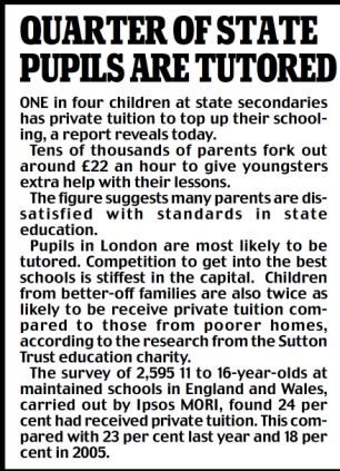 quarter of state pupils are tutored.jpg