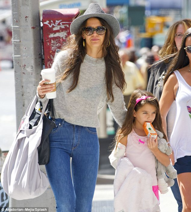 New York, New York: Katie and Suri have become regulars on the streets of Chelsea in New York, where they have made their home