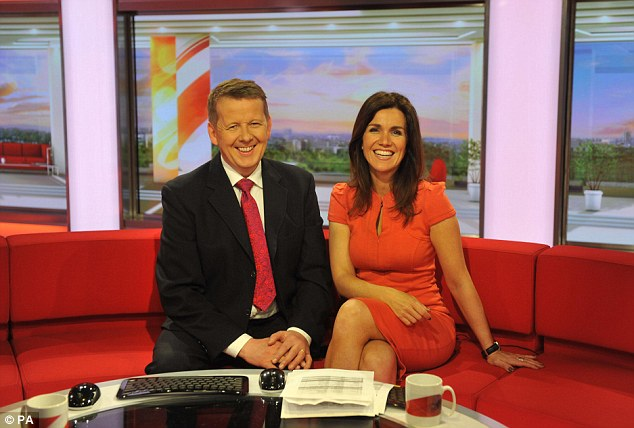 That's what friends are for: The TV host explained she had been getting some tips from her co-star Bill Turnbull, who finished in sixth place on Strictly Come Dancing in 2005