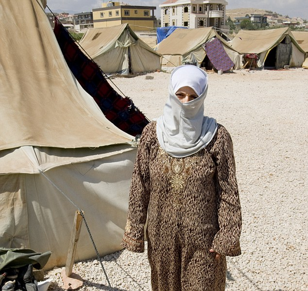 An estimated two million people have been displaced by the civil war in Syria
