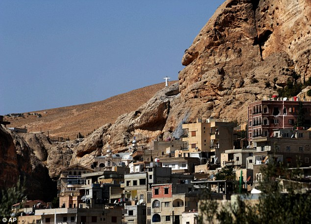 A general view of Maaloula, northeast of the capital Damascus. Rebels including al-Qaida-linked fighters are believed to have gained control of the village