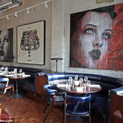 Quality Leather Dining Chairs Electric Rocking Chair Gordon Ramsay And David Beckham's New Restaurant Union Street Cafe Is Unveiled As It Almost ...