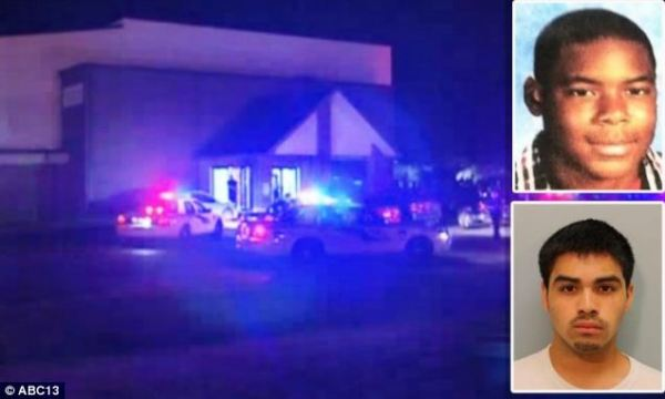 Josh Broussard memorial shots fired outside service for