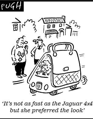 Jaguar unveils its 'Chelsea tractor': Luxury carmaker