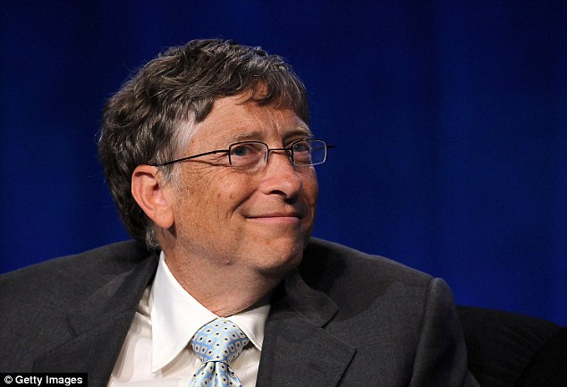 Richer: Microsoft founder Bill Gates is definitely a member of the 1 per cent in the U.S. This past May he regained the title of 'World's Richest Man'
