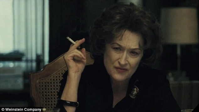 Oscar performance? Meryl Streep stars in August: Osage County as a matriach with a sharp tongue and an addiction to prescription pills