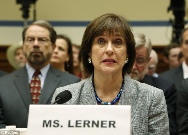 CRUELLA DE (TAX) BILL? Lois Lerner 'took the fifth' before Congress, refusing to testify. But her emails show her level of involvement in the tea party scandal that deeply tarnished the IRS