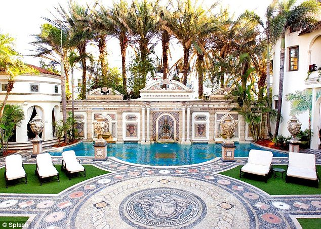 Gianni Versaces Miami mansion reopens as luxury hotel Villa by Barton G  Daily Mail Online
