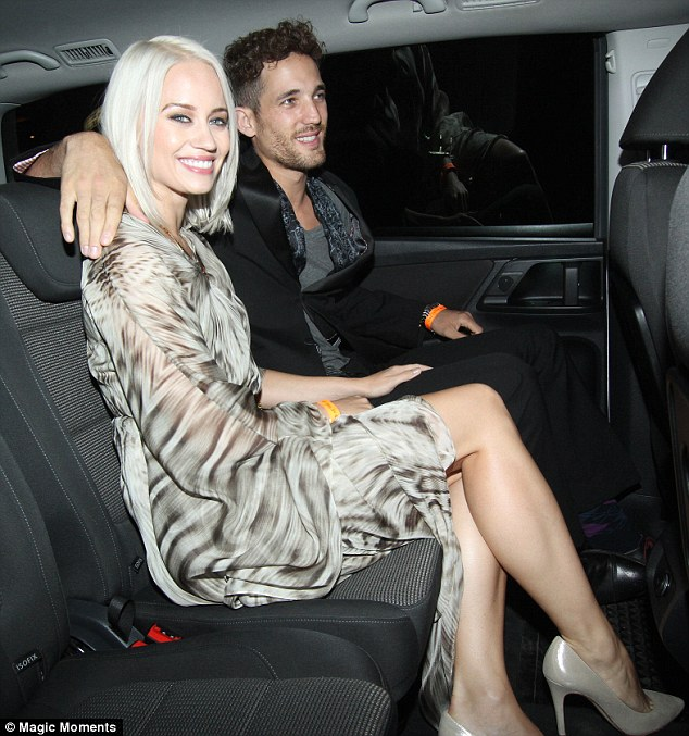 Kimberly Wyatt Shows Off Purple Gemstone Engagement Ring