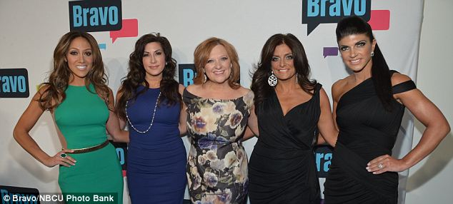 Family values: Gorga (left) is Teresa Guidice's (right) sister-in-law