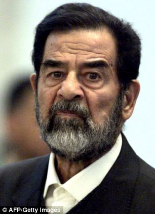 One security source has said the the huge pile of notes could have belonged to Saddam Hussein