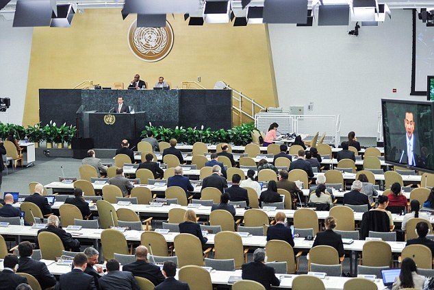 Coming together: Diplomats from all over the world are in town for the 68th UN General Assembly meeting