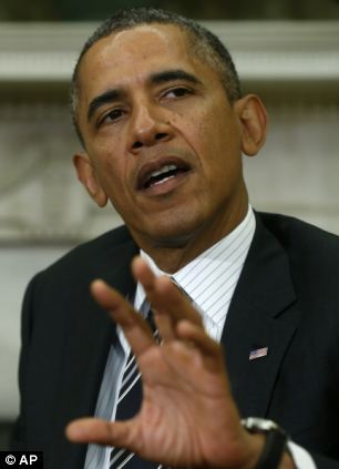 President Barack Obama claimed the chemical weapon attack in August was conducted by the Syrian regime