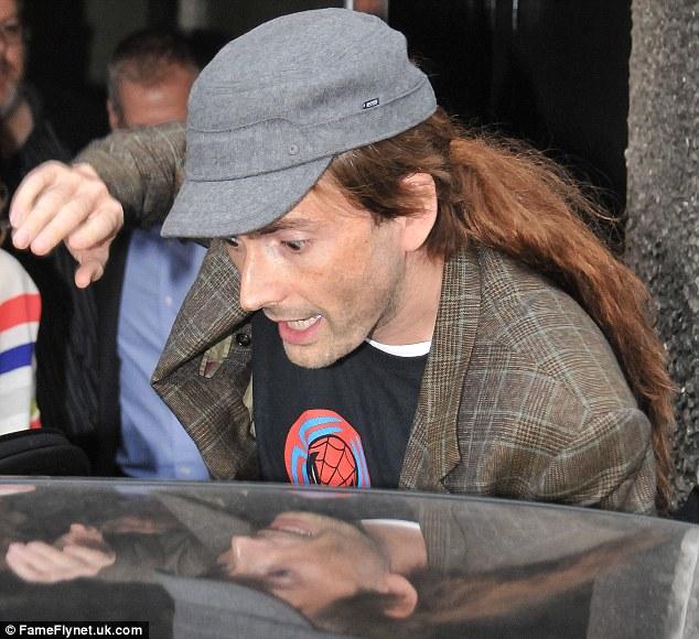 Hair David Long Tennant